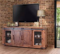Parota 80 Inch TV Stand With Mesh Tv Stand Inches Wide R61