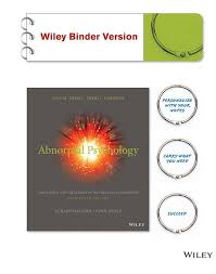 the best abnormal psychology ideas psychology abnormal psychology 13th edition has been praised for nearly four decades as being a popular