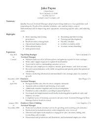 Retail Assistant Manager Resume Objective Retail Manager Resume Examples Retail Manager 100 Retail Assistant 33