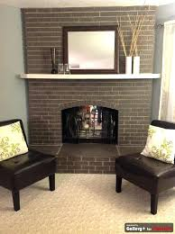 painted fireplace brick painted fireplace brick grey painted brick that it still looks like brick maybe painted fireplace brick