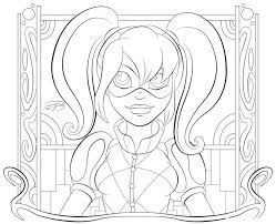 Disegni Da Colorare Disegni Da Colorare Harley Quinn Stampabile