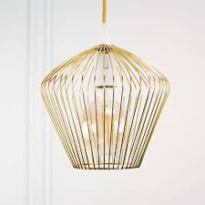 gorgeous gold scandi ceiling light with gold ceiling rose