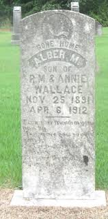 Alber M. Wallace (1891-1912) - Find A Grave Memorial