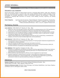 Resume Objective For Legal Assistant Paralegal Resume Skills For Study Sample With Summary Restaurant 22