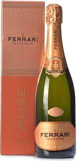 Give the rosé champagne a rest and check this bottle out. Sparkling Wine Ferrari Perle Rose Brut 2008 Trento Doc Gift Box 750 Ml Ferrari Perle Rose Brut 2008 Trento Doc Gift Box Price Reviews