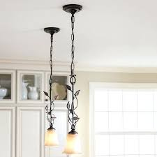 highlight the natural beauty of your room with mini pendant lights allen roth bronze mini pendant
