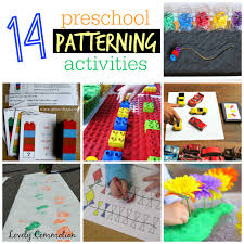 Pattern Activities For Preschoolers Stunning 48 Preschool Patterning Activities Lovely Commotion