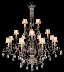 fine art lamps 136740 a midsummer night s dream extra large 16 lamp crystal chandelier with loading zoom