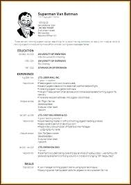 40 Best Simple Resume Layout Concept Of Easy Resume Layout New Resume Lay Out