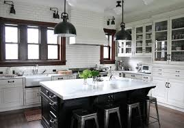 collect this idea countertop island black and white keep it simple while adding