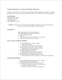 resume simple example sample resume with little work no work experience resume example