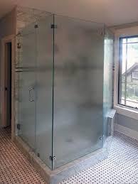 frosted glass shower doors houzz front doors ge profile french door refrigerator door seal