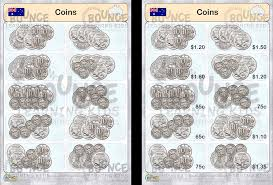 Coin Chart For Kids Money Aus Counting Silver Coins 2