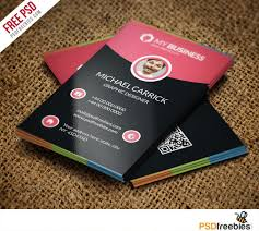 Free Personal Cards Modern Corporate Business Card Free Psd Vol 2 Psdfreebies Com