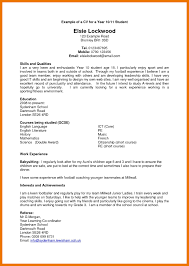 Cv Help Template Cv Template Year 11 Cv Template Resume Examples Resume