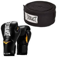 Amazon Com Everlast Elite Pro Style Leather Training