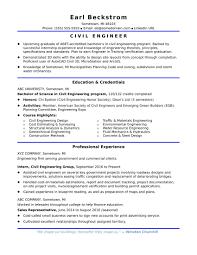 Sample Resume For Fresher Diploma Civil Engineer New Resume Samples