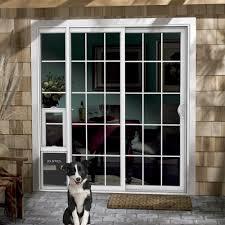 image of jeld wen 72 in x 80 in white right hand vinyl patio door
