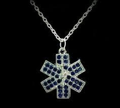 crystal star of life paramedic emt ems