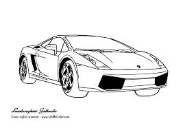 Lamborghini Gallardo Coloring Page Letmecolor