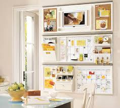 Kitchen office organization Kitchen Cabinets 14 Wall Mount With Place For Everything Homebnc 23 Best Command Center Ideas And Designs For 2019