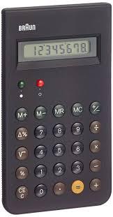 braun calculator black amazon co uk office products