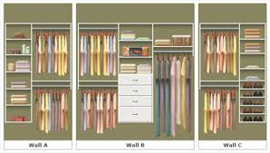 Reach In Closet Systems Reach In Closet Organization System By