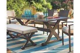 moresdale rectangular dining table ashley furniture home