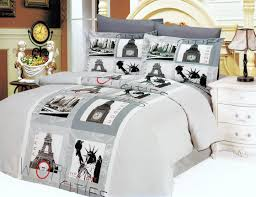 Top 66 Exceptional Paris Bedding Set Duvet Covers For Teens Bedroom Ideas  Teen Girl And Classic Nightstand Plus Vintage Table Lamp Cover That Will  Bring ...