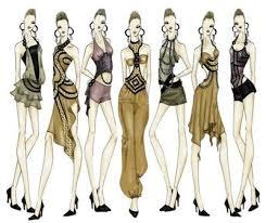 Fashion Designs Drawn Under Fontanacountryinn Com