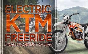 electric ktm freeride finally coming to usa the bikebandit blog