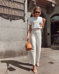 Neutral #ninafashionblur #ootd #Outfits #shop #spring #Street #Style  #trousers outfit summer classy #White in 2020 | Boohoo outfits, Neutral  outfit, Outfits