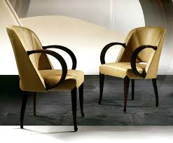 deco armchair with leather art hw100 art deco dining chair