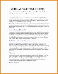 Medical Assistant Resumes Examples Enchanting Resume Examples For Medical Assistant Jobs Best Resume Example