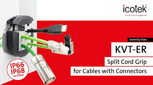 Cord Grips Cable Glands For Cables With Connectors Icotek