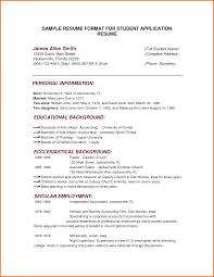 Cover Letter Resume Format Sample Resume Format Sample 2016