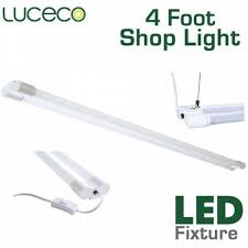 luceco 4 foot led light 36 watt 3600 lumens by luceco lighting its thyme