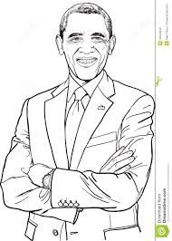 Small Picture Barack Obama Coloring Page Free Printable For 29649 Inside glumme