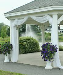 Tulle Fabric Wedding Decorations Use Fabric Tulle To Decorate Gazebo Maybe Just At The Entrance
