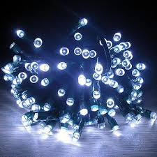 solar string lights. Wonderful Lights Solar Christmas Party String Lights  White  Inside
