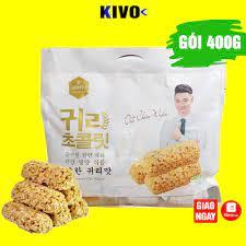 Bánh Yến Mạch Hàn Quốc 400g - Bánh Yến Mạch Ăn Kiêng Bánh Kẹo Đồ Ăn Vặt Nội  Địa Hàn Quốc - Quà Tết 2021 giảm tiếp 41,000đ