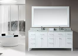top 33 outstanding double sink bathroom vanity dimensions classic satin nickel faucet gray stained wall floating mirror white ceramic glass countertop inch