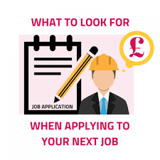 5 Things To Look For When Applying For Your Next Job