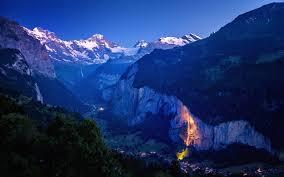 Lauterbrunnen Valley #mountains #stars ...