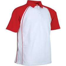 white red mens corporate t shirt