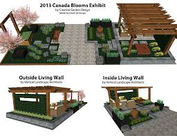 2016 canada blooms 3d model by creative garden design north 44 design