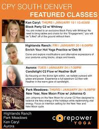 corepower yoga highlands ranch the south denver studios