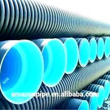 4 corrugated drain pipe 2 inch double wall for drainage capacity square plastic d dimensions elbow steel drain pipe drainage 3 inch corrugated
