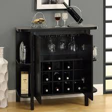 wine bar cabinet. Exellent Wine Dulcet Bar Cabinet  Wine Rack Side Shelves Cappuccino MNRHI For I