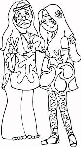 Good Hippie Coloring Pages 56 For Your Picture Coloring Page With